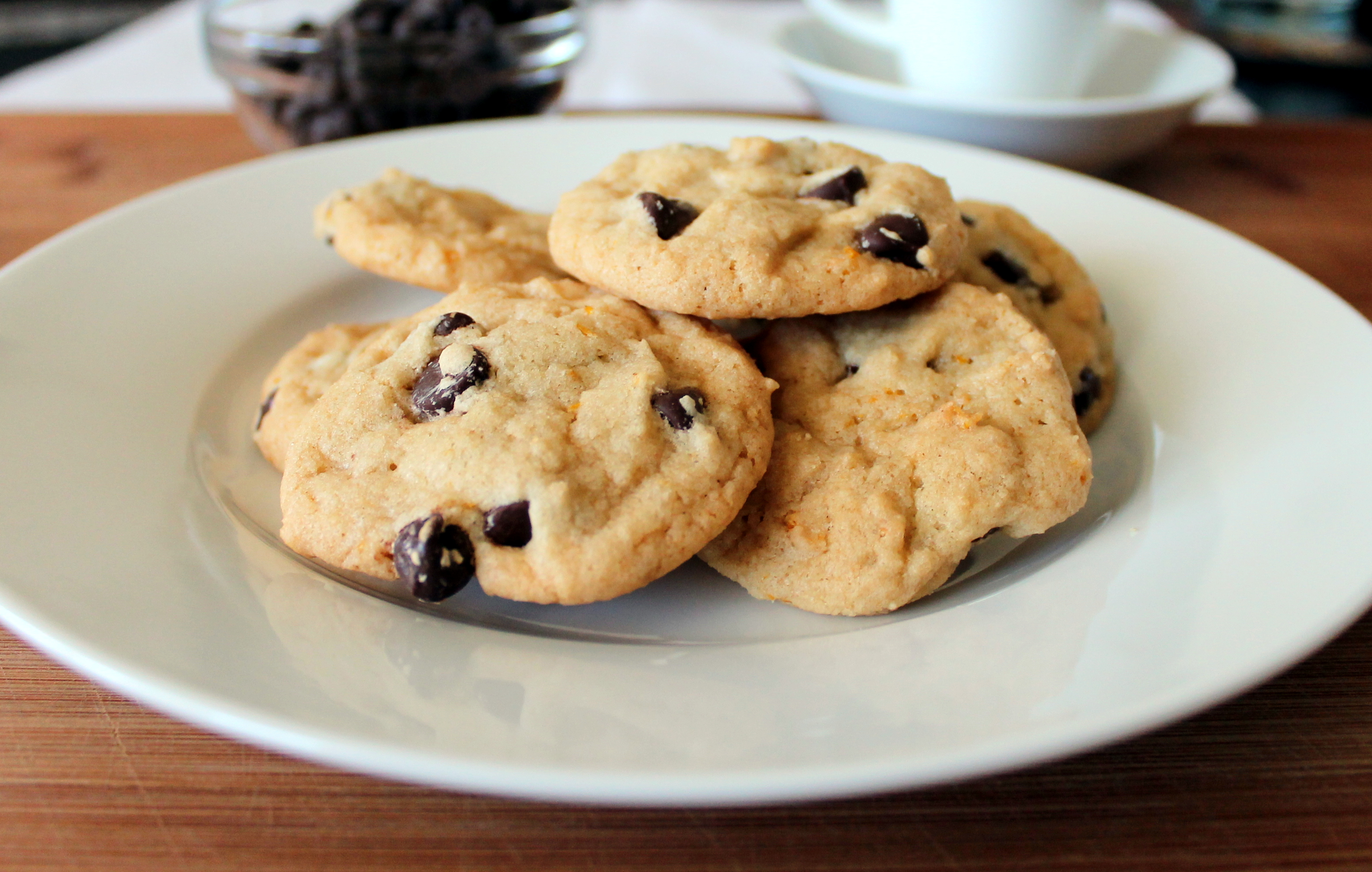 Orange chocolate chip cookie recipes