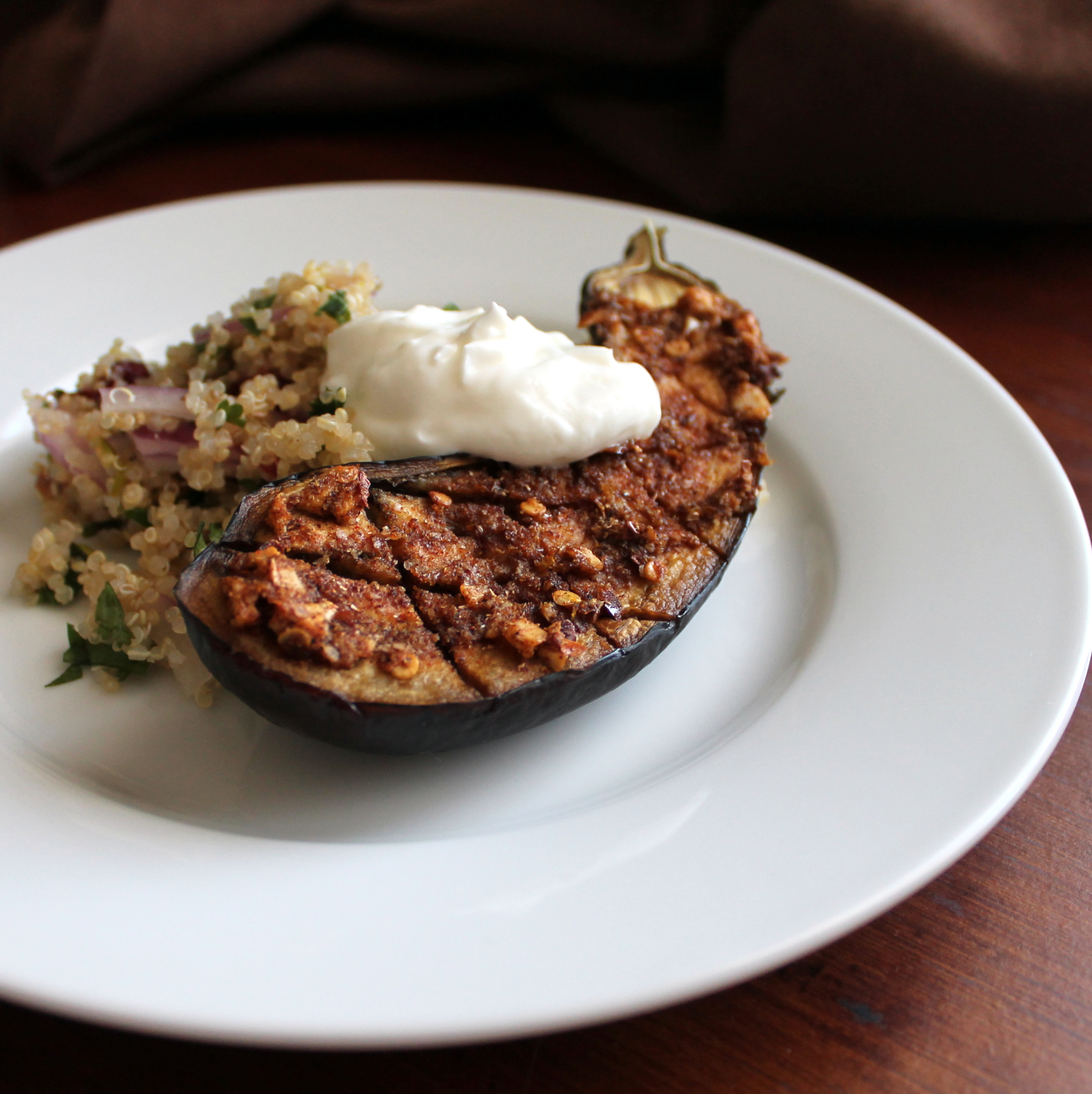 Spiced Eggplant Salad Recipes — Dishmaps