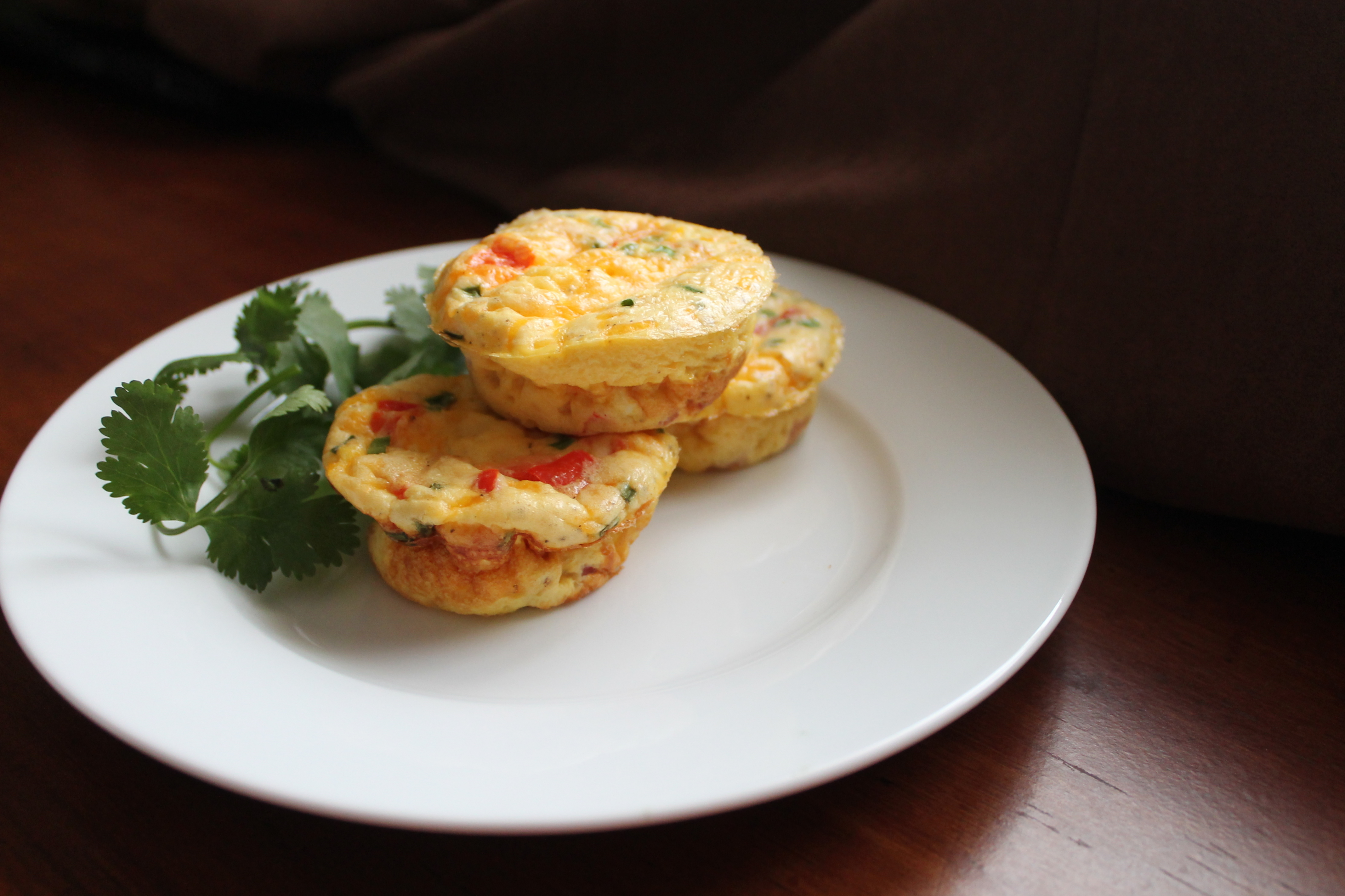 Muffin-Tin Egg Frittatas | The Kitchen is Calling