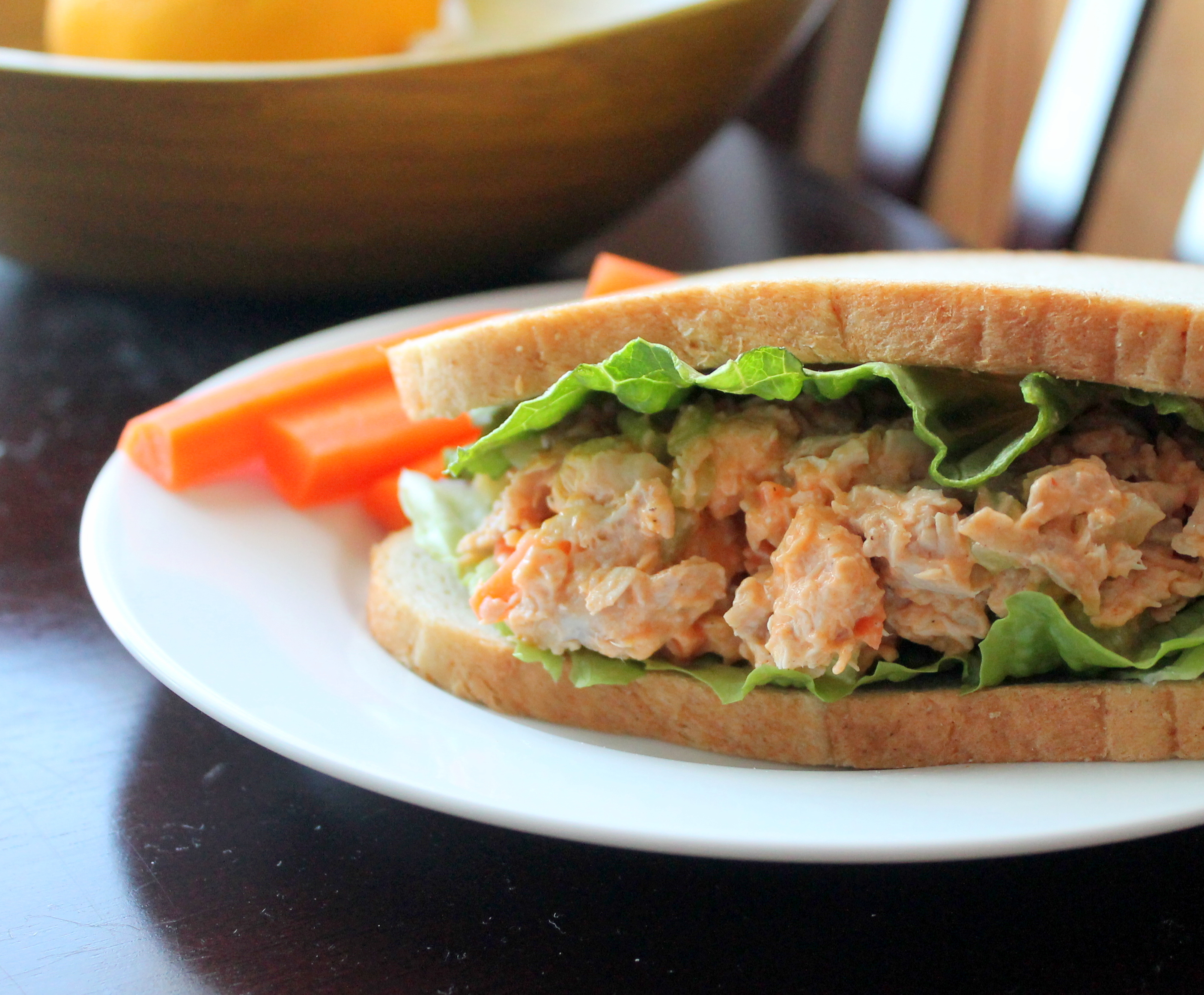 Chicken Salad: Buffalo Style | The Kitchen is Calling