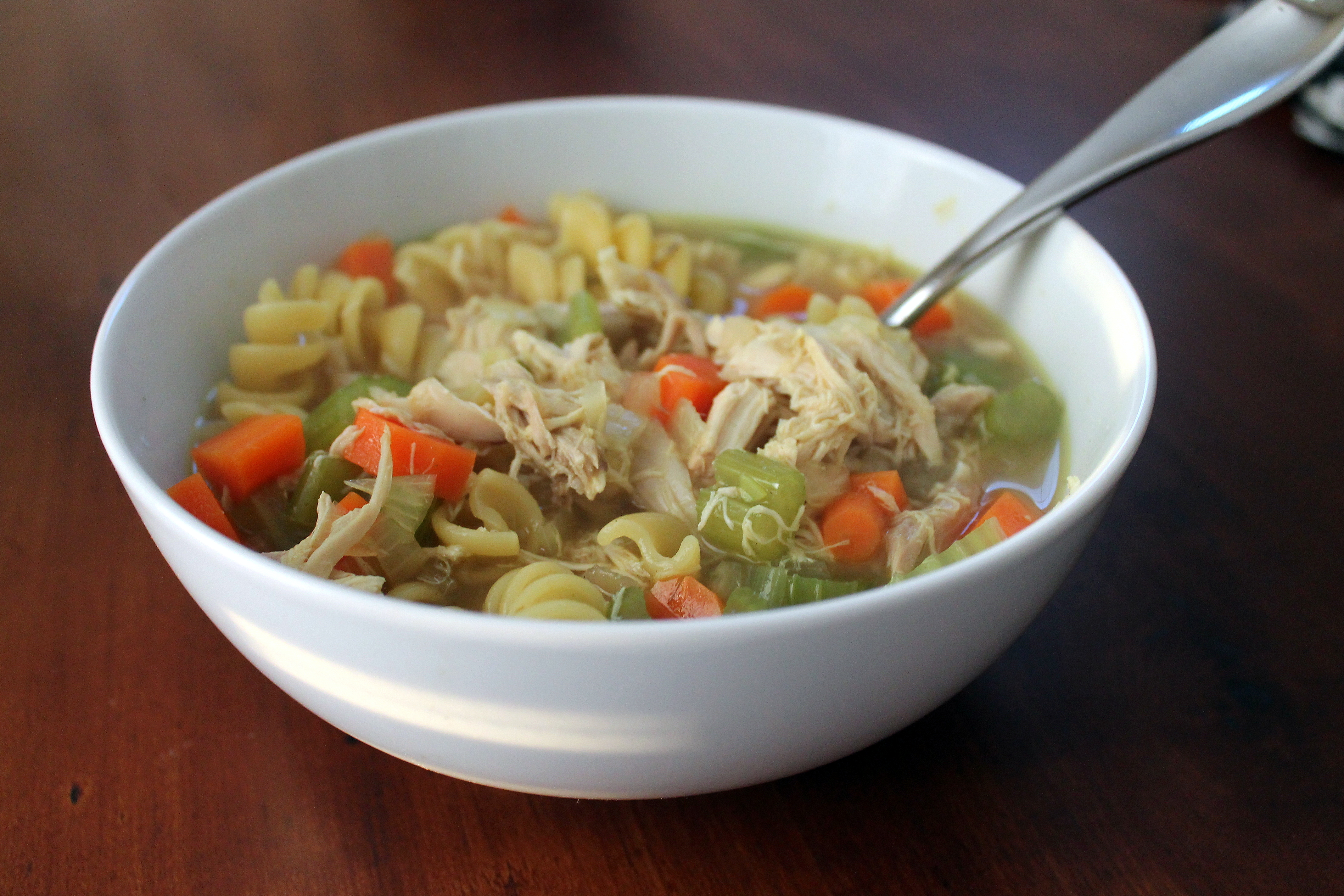 Two in One: Chicken Soup and Chicken Stock