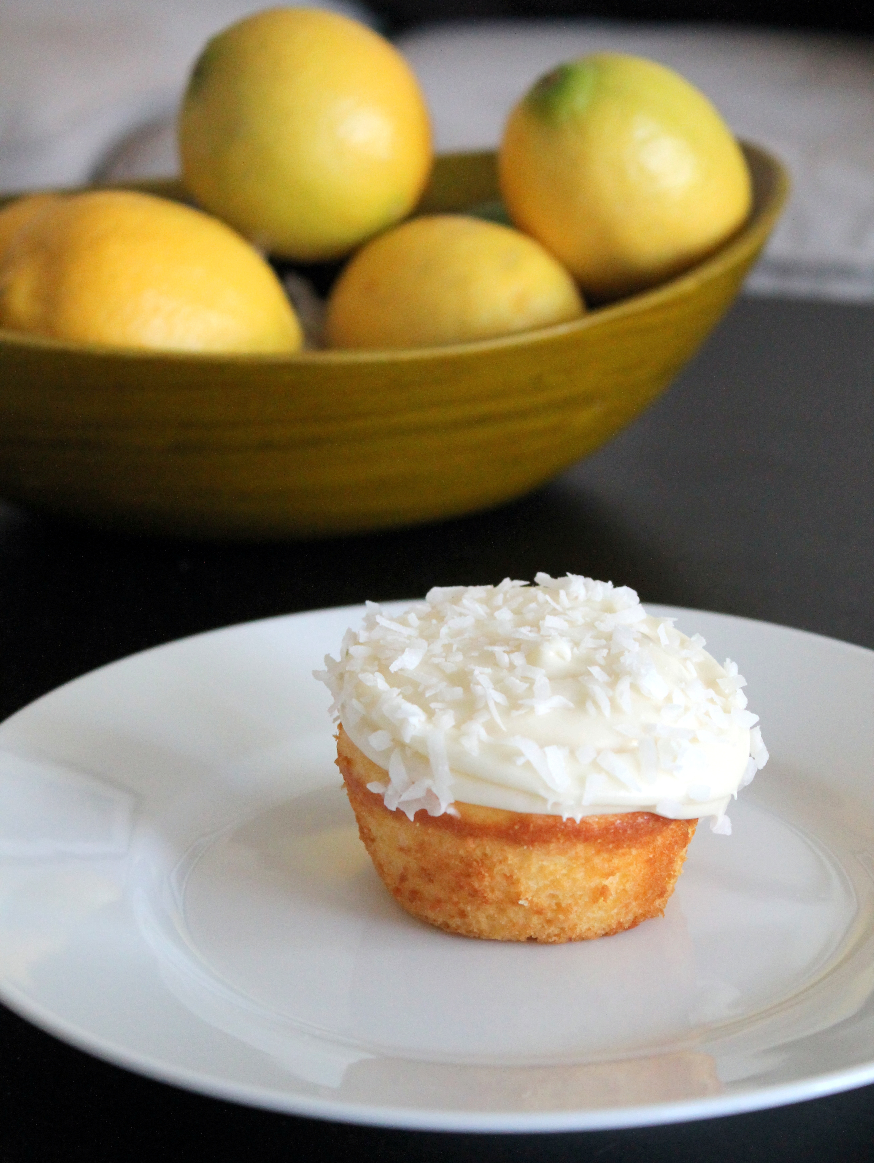 The Best Lemon Coconut Cupcakes of Your Life